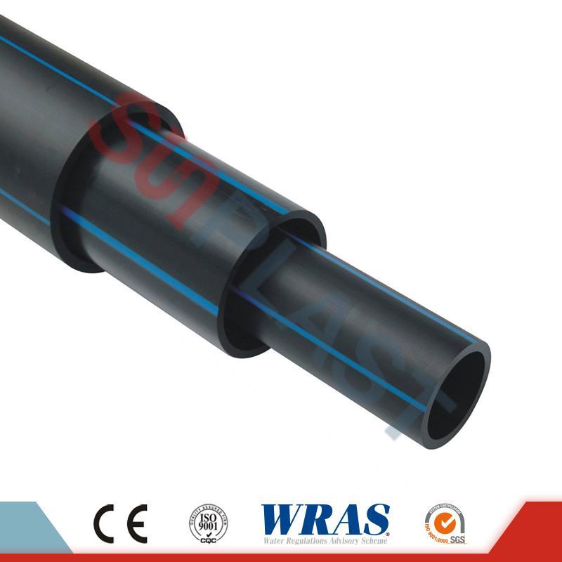 ХДПЕ цеви (поли цеви) у црној / плавој боји за снабдевање водом